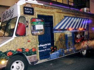 La Baguette Cafe truck