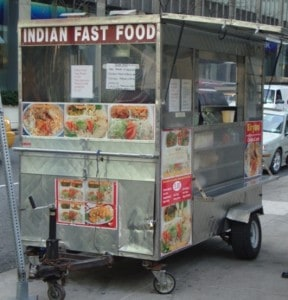 Indian Fast Food cart 53rd & Park