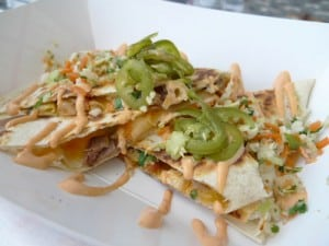 Marination Mobile quesadilla