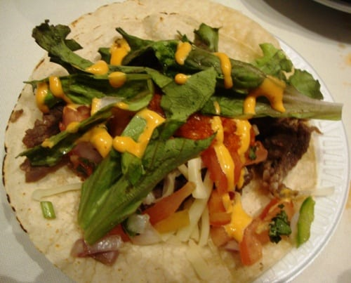 beef taco