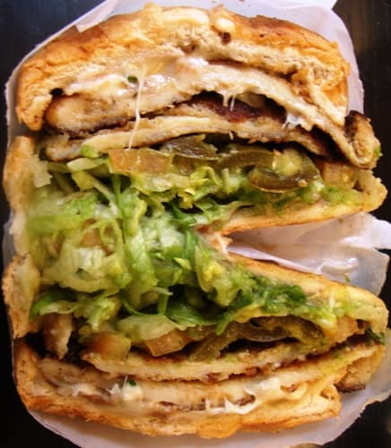 TODAY'S LUNCH: CHICKEN MILANESE TORTA FROM TACOS Y QUESADILLAS MEXICO ...