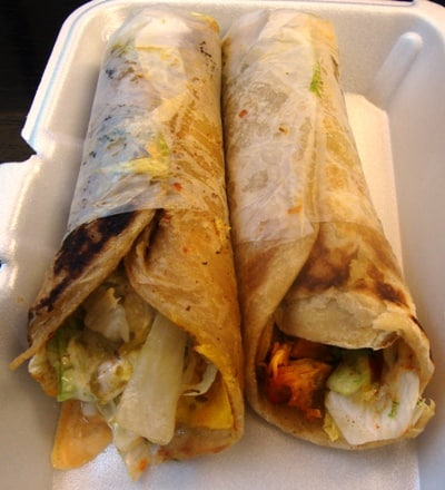 TODAY'S LUNCH: KATI ROLL COMBO FROM BIRYANI CART | New ...