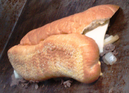 grill NY Food Truck Lunch: Cheesesteak from Phils Steaks