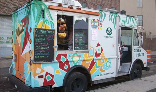 Mobile munchies for fri may 11th new york street food for Food truck juice bar