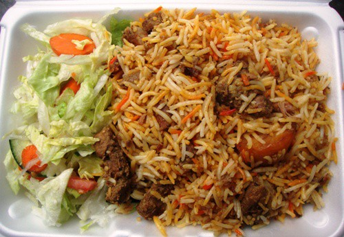 goat biryani