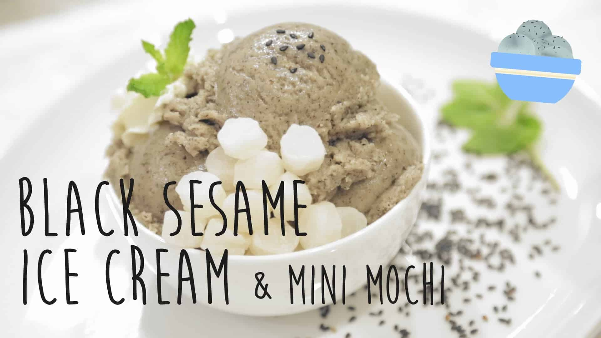 Check Out This Interesting Black Sesame Ice Cream from ...