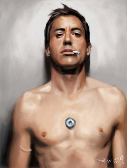 robert downey jr by elguaricho