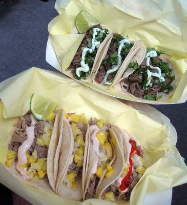 Fusion On The Run tacos