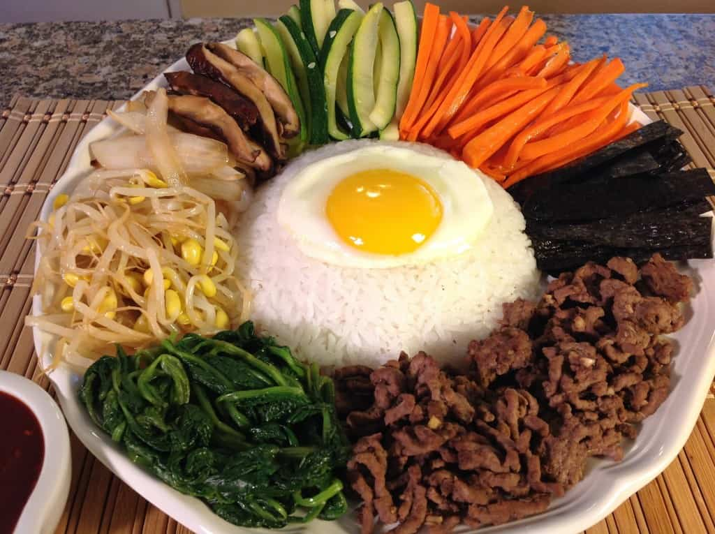 Tasting Bibimbap At The Seoul Food Truck New York Street