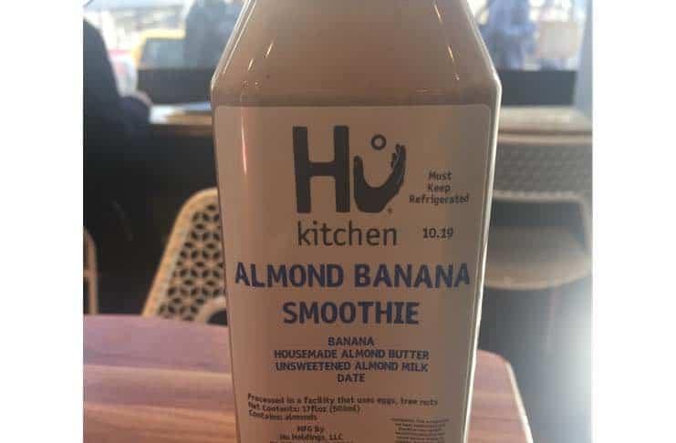 Hu Kitchen smoothie