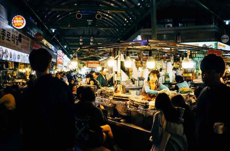 Best Food Markets in Seoul